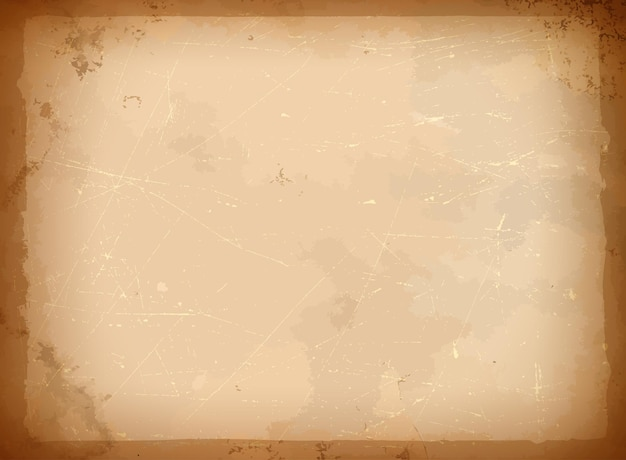 Старая бумажная рамка