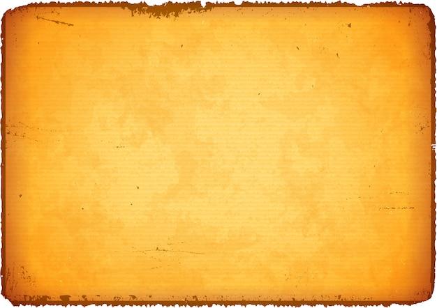 Старая бумага с рваными краями