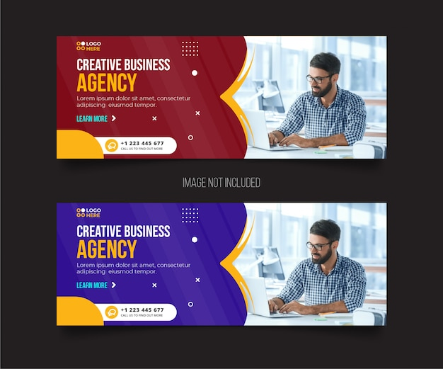 Agency modern cover template