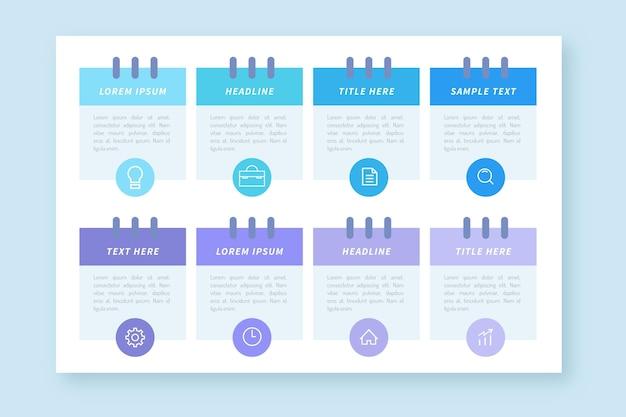 Agenda chart concept