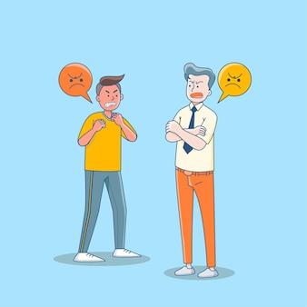 Агрессивное и жестокое поведение, конфликт или соперничество.