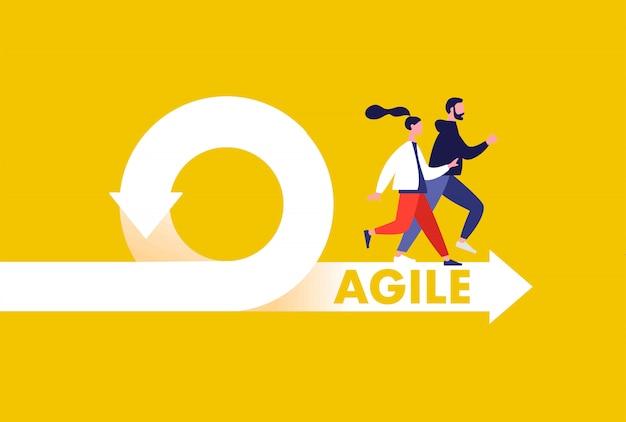 Agile running