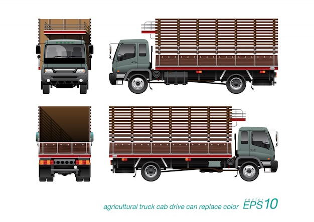 Agricultural truck