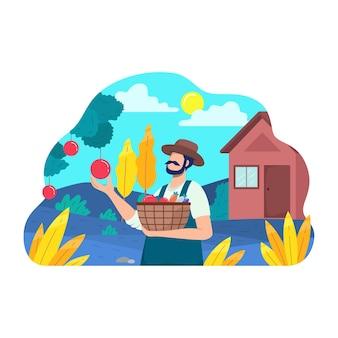 農業労働者