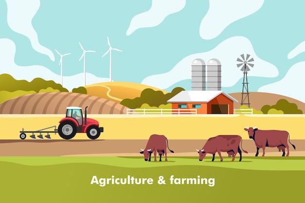 農業と農業