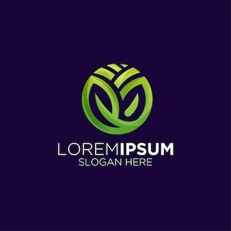 Сельскохозяйственный градиент логотип