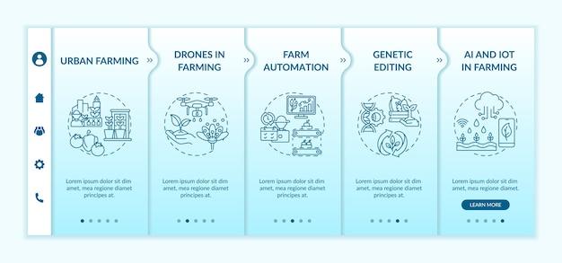Шаблон для ознакомления с инновациями в сельском хозяйстве