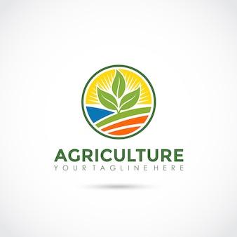 Дизайн логотипа для сельского хозяйства