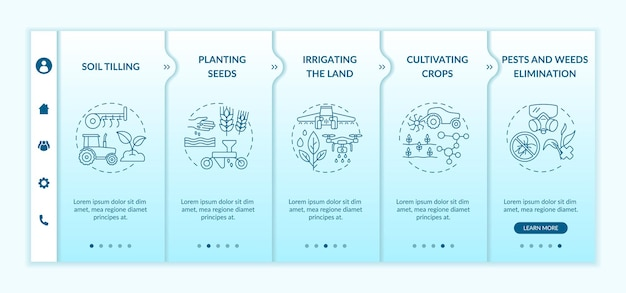 Agriculture machines tasks onboarding template