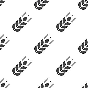 Сельское хозяйство, вектор бесшовные модели, редактируемые можно использовать для фонов веб-страниц, узорные заливки
