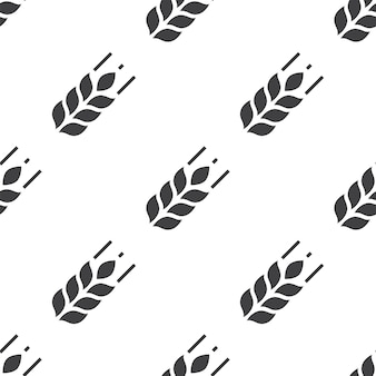 Agriculture, vector seamless pattern, editable can be used for web page backgrounds, pattern fills