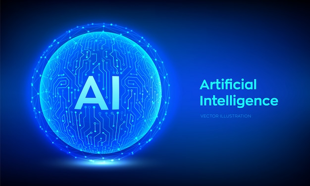 Ai. artificial intelligence and machine learning background