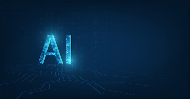 Ai(artificial intelligence) wording with the circuit design.