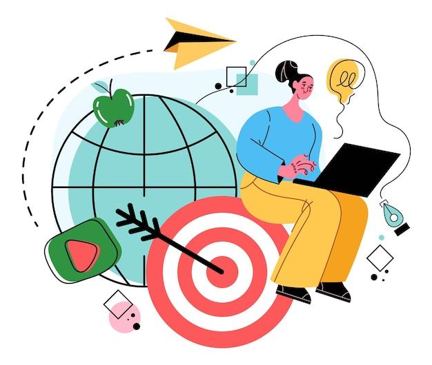 Aim finance business target goal achievement