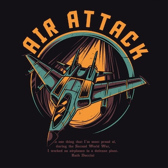 Air attack
