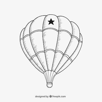 Air balloon sketch