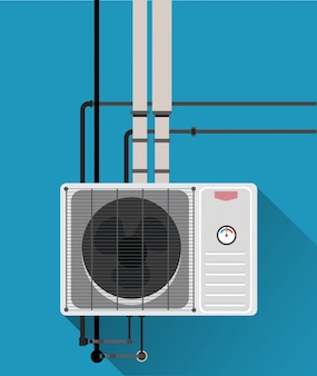 Air condition system with tube