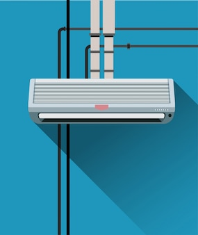 Air condition system with tubes