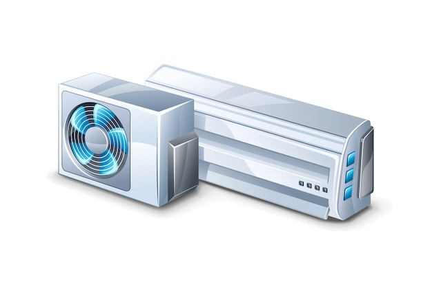 Air conditioner  illustration