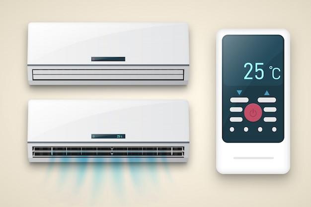 Air conditioner mockup