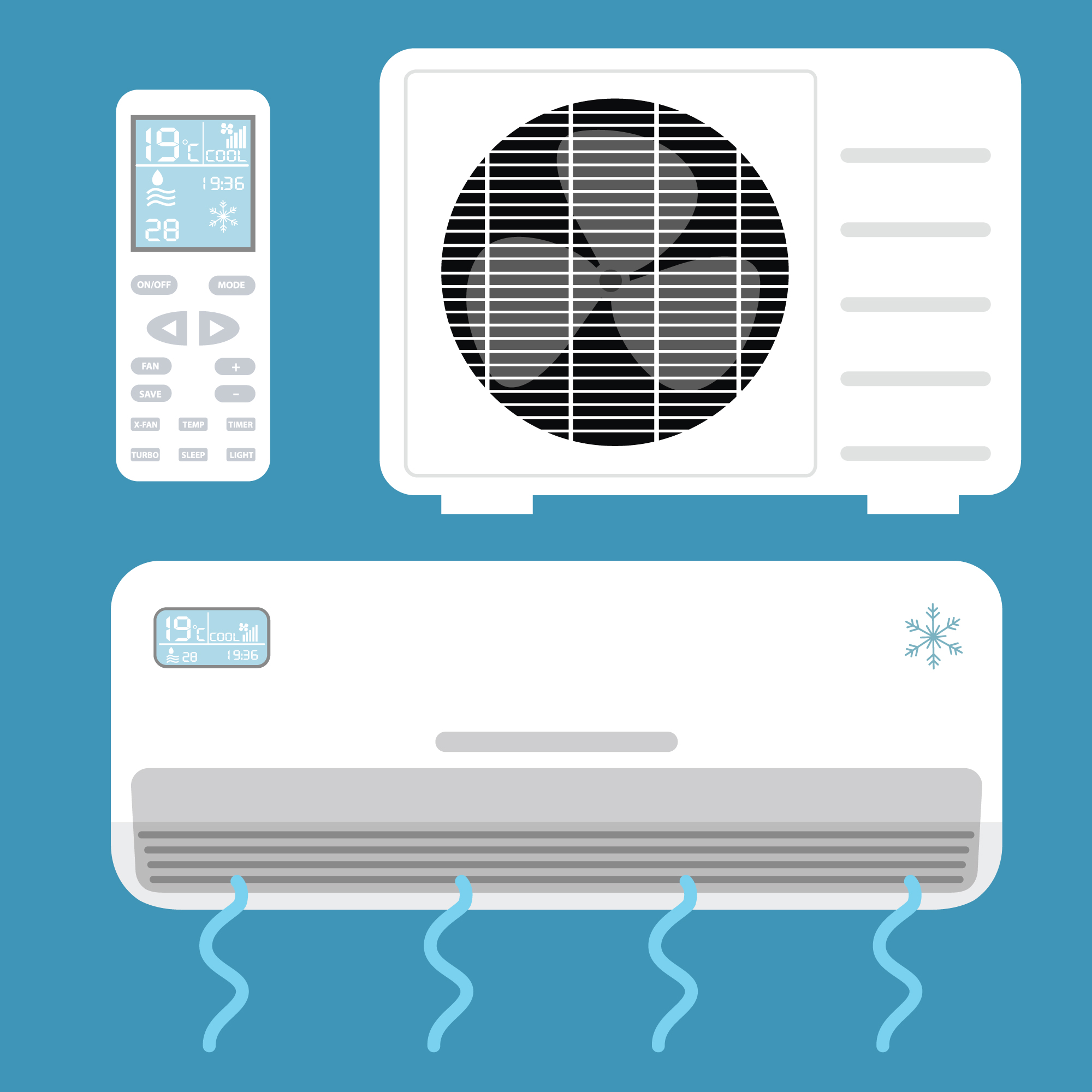 Air conditioning elements