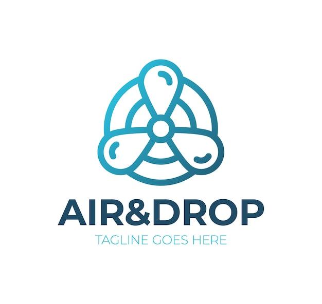 Air cooling logo