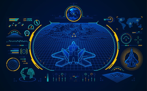 Air fighter interface