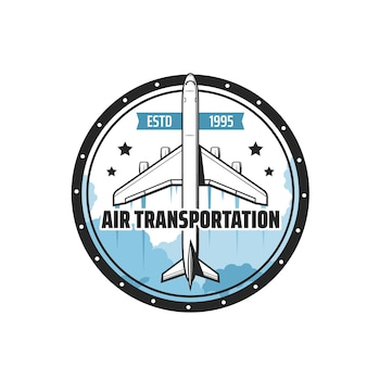 비행기 또는 비행기의 항공 운송 아이콘