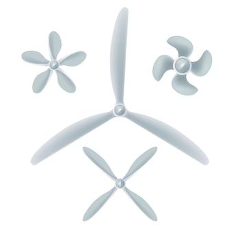 Aircraft screw set