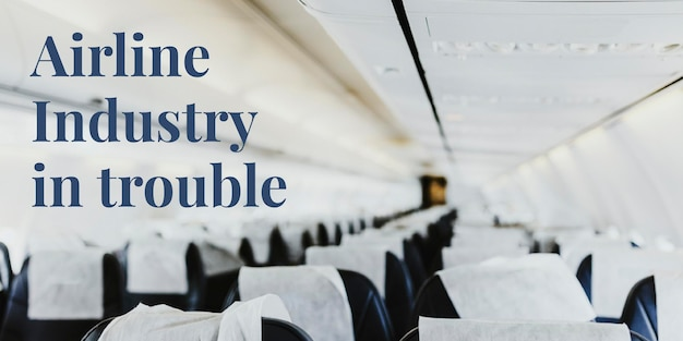 コロナウイルスの発生時に問題を抱えている航空業界