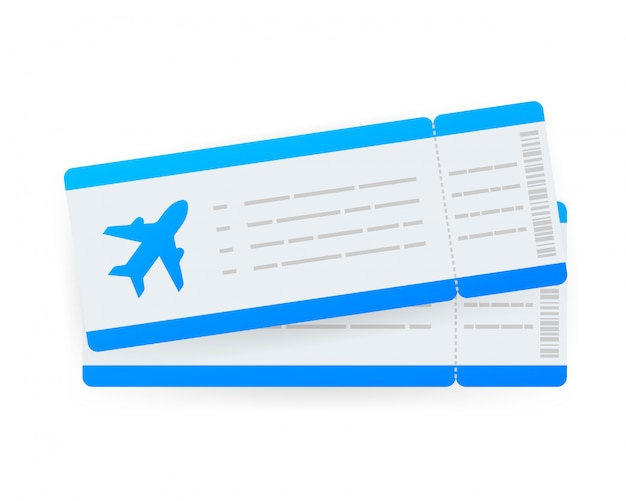Airline tickets or boarding pass inside of special service envelope.