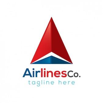 Авиационная компания шаблон логотипа