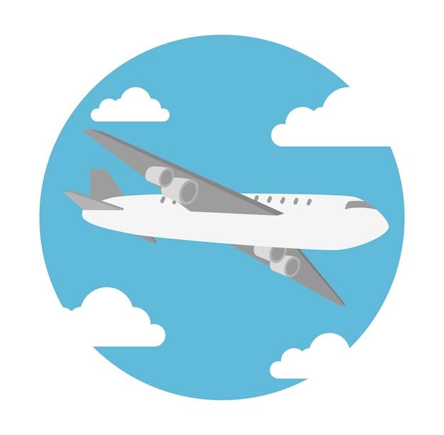 Airplane flying design