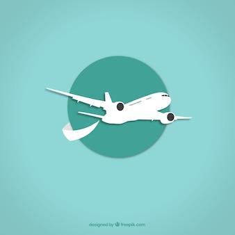 Значок самолета