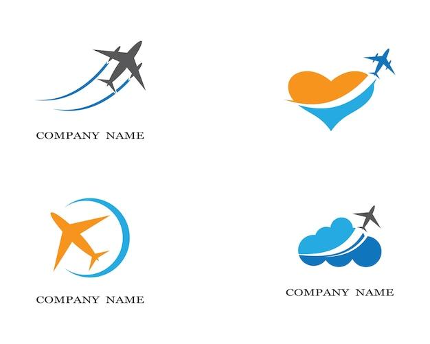 Airplane symbol illustration