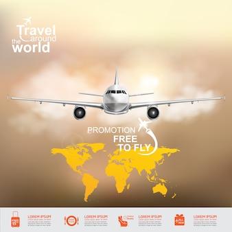 전세계 비행기 여행