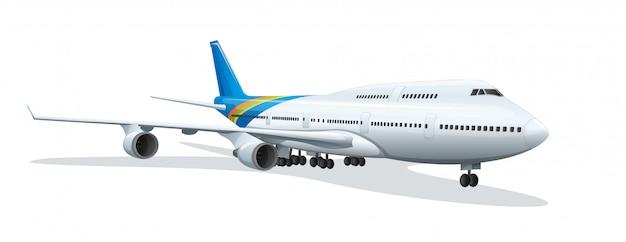 Un aeroplano