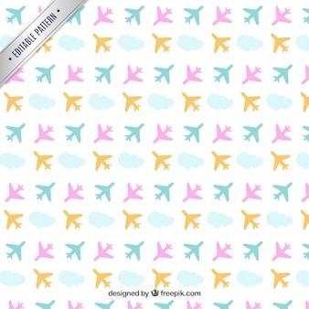 飛行機パターン