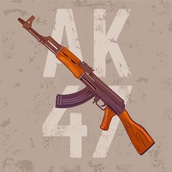 Ak 47 rifle