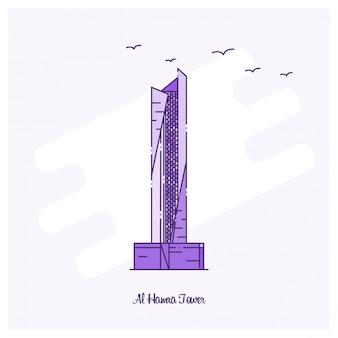 Al hamra tower landmark