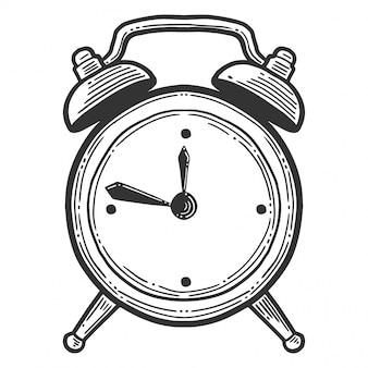 Alarm clock, analog watches