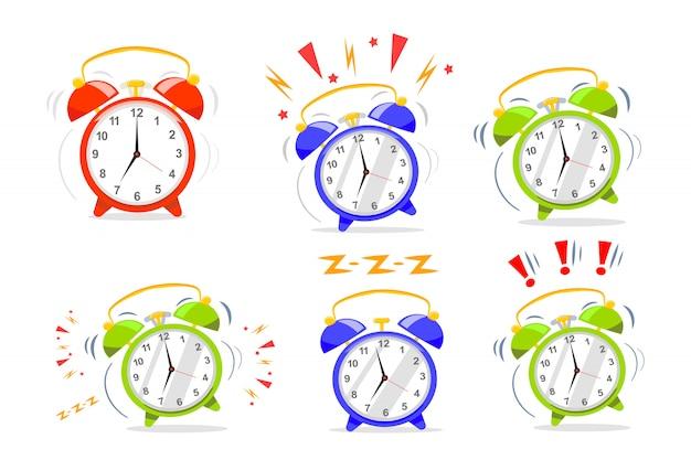 Alarm clock collection.