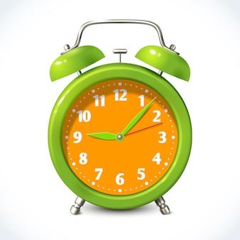 Alarm clock color illustration