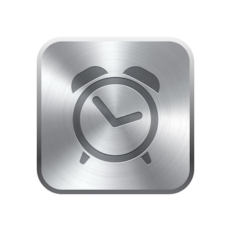 目覚まし時計アイコンボタン
