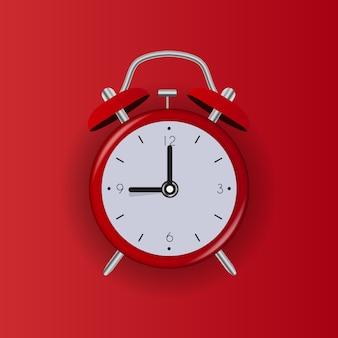 Значок будильника на белом фоне. иллюстрация