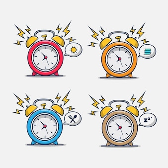 Alarm clock with a variety of conditions