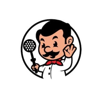 Alchef mascot design