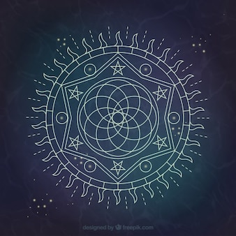 Alchemy background design