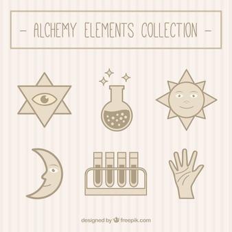 Коллекция alchemy элементы