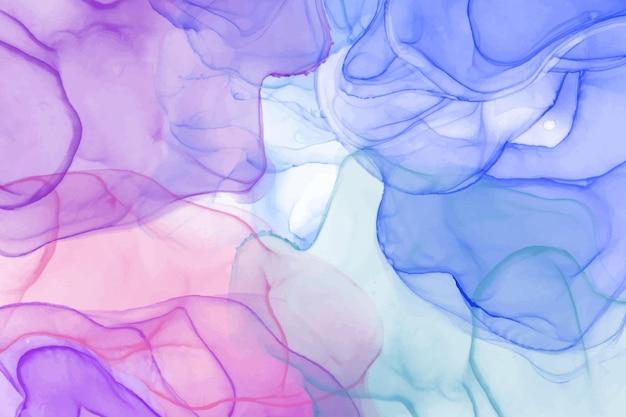 Спиртовые чернила красочный абстрактный фон. модное жидкое искусство.